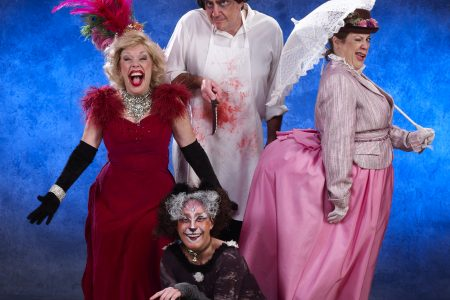 "Uptown Players presents the regional premiere of ""Forbidden Broadway's Greatest Hits"""