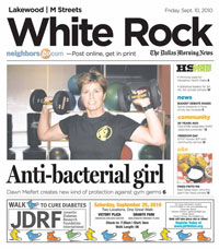 The Dallas Morning News: Anti-Bacterial Girl