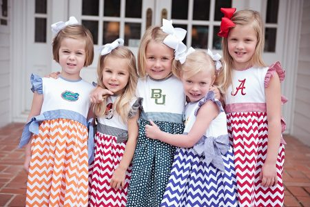 Smocked Auctions offers licensed collegiate collection pre-sale for a limited time only