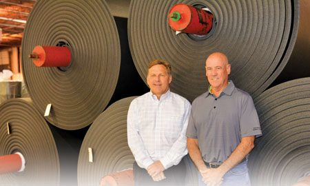 Welcome mat: Fort Worth sports flooring maker continues growth (Fort Worth Business Press)