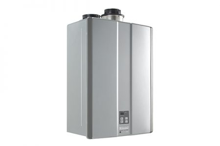 Rinnai introduces the first Tankless Water Heater to offer both Concentric And Twin-Pipe PVC Venting on the same unit