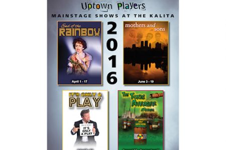 Uptown Players announces 2016 Season Lineup