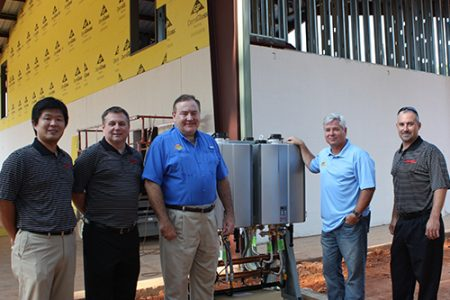 Rinnai America donates tankless water heaters to Camp Southern Ground