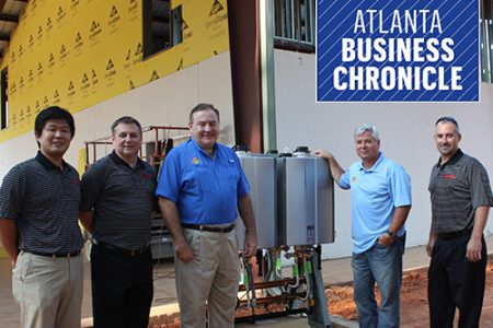 Rinnia America donates tankless water heaters to Camp Southern Ground (Atlanta Business Chronicle)