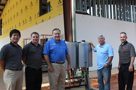 Rinnai donates tankless water heaters to Camp Southern Ground (The Wholesaler)
