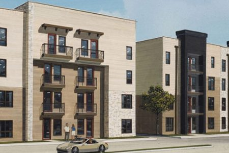 KWA Construction begins Post Oak Apartments