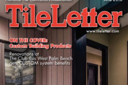 New products – Coverings edition (TileLetter)
