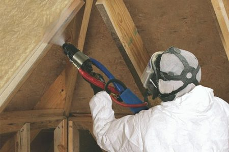 Demilec Sealection 500 spray foam insulation now ignition barrier-free for unvented attics