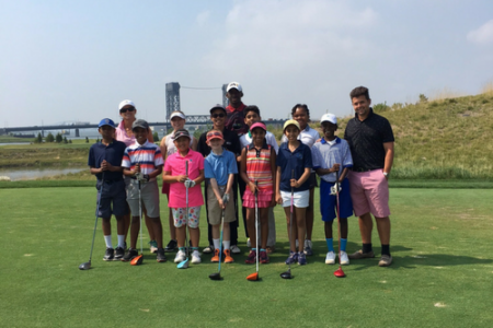 LATICRETE partners with youth development program at the Presidents Cup Golf Tournament