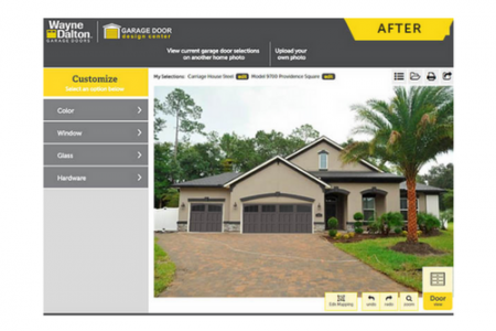 Wayne Dalton Launches Garage Door Design Center App