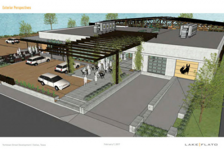 Oaxaca Interests to Redevelop West Dallas Warehouse Into Dining & Retail Destination