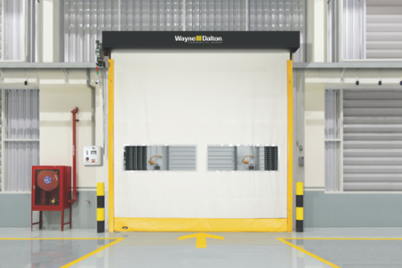 Wayne Dalton Launches New Flexible Bottom Interior High Speed Fabric Door (Garage Door News)