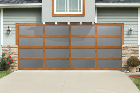 Overhead Door™  Brand Introduces Four Wood Grain Finishes to its Fastest-Growing Aluminum Garage Door Series