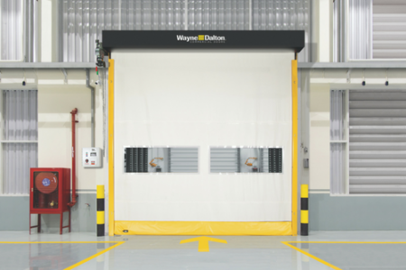 Wayne Dalton Launches New Flexible Bottom Interior High Speed Fabric Door (International Door & Operator Industry)