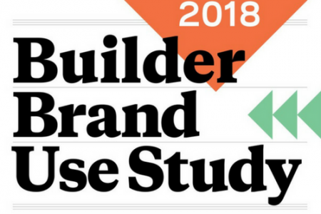 2018 Builder Brand Use Study Results (BUILDER Magazine)