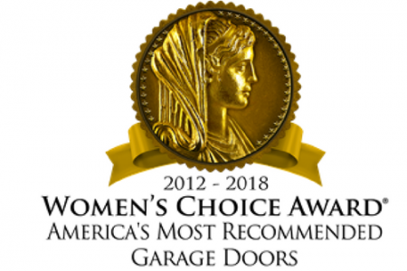 Overhead Door™ Brand has received the Women's Choice Award® as America's Most Recommended™ Brand for Garage Doors