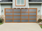 Overhead Door™ Four Wood Grain Finishes (Commercial Construction & Renovation)