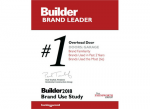 Overhead Door™ Brand Recognized as the 'Most Familiar Brand' and 'Brand Used Most Often' in 2018 BUILDER Brand Use Study