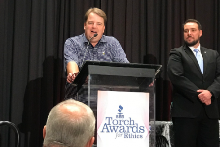 KWA Construction Wins Torch Awards for Ethics as Top Ethically-Driven, Medium-Sized Company in North Texas