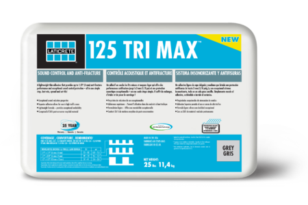 LATICRETE Launches the Flooring Industry's First-Ever Three-In-One Adhesive, 125 TRI MAX™