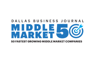 KWA Construction Named One of the Fastest-Growing Mid-Size Companies in North Texas for Third Consecutive Year