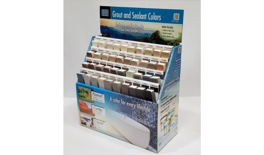 Laticrete grout and sealant colors